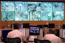 Command center for monitoring an emergency in a city